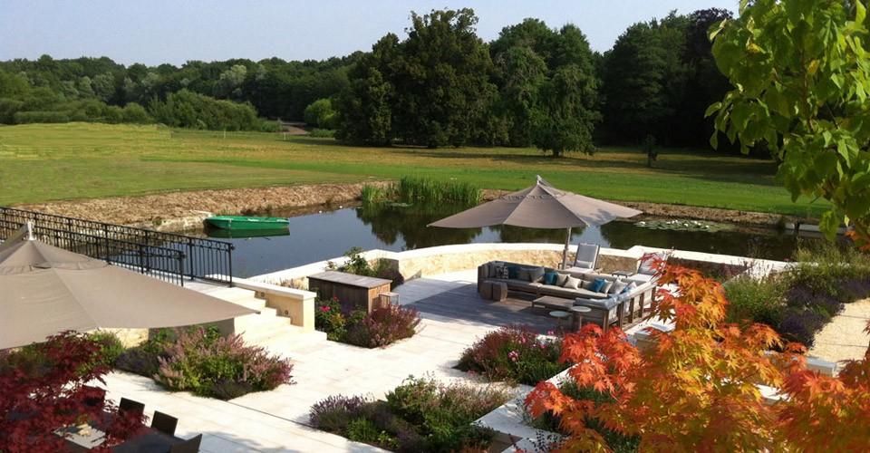 olivier ponthieu paysages et living pool trouville sur mer cr ateur de jardins paysages et. Black Bedroom Furniture Sets. Home Design Ideas